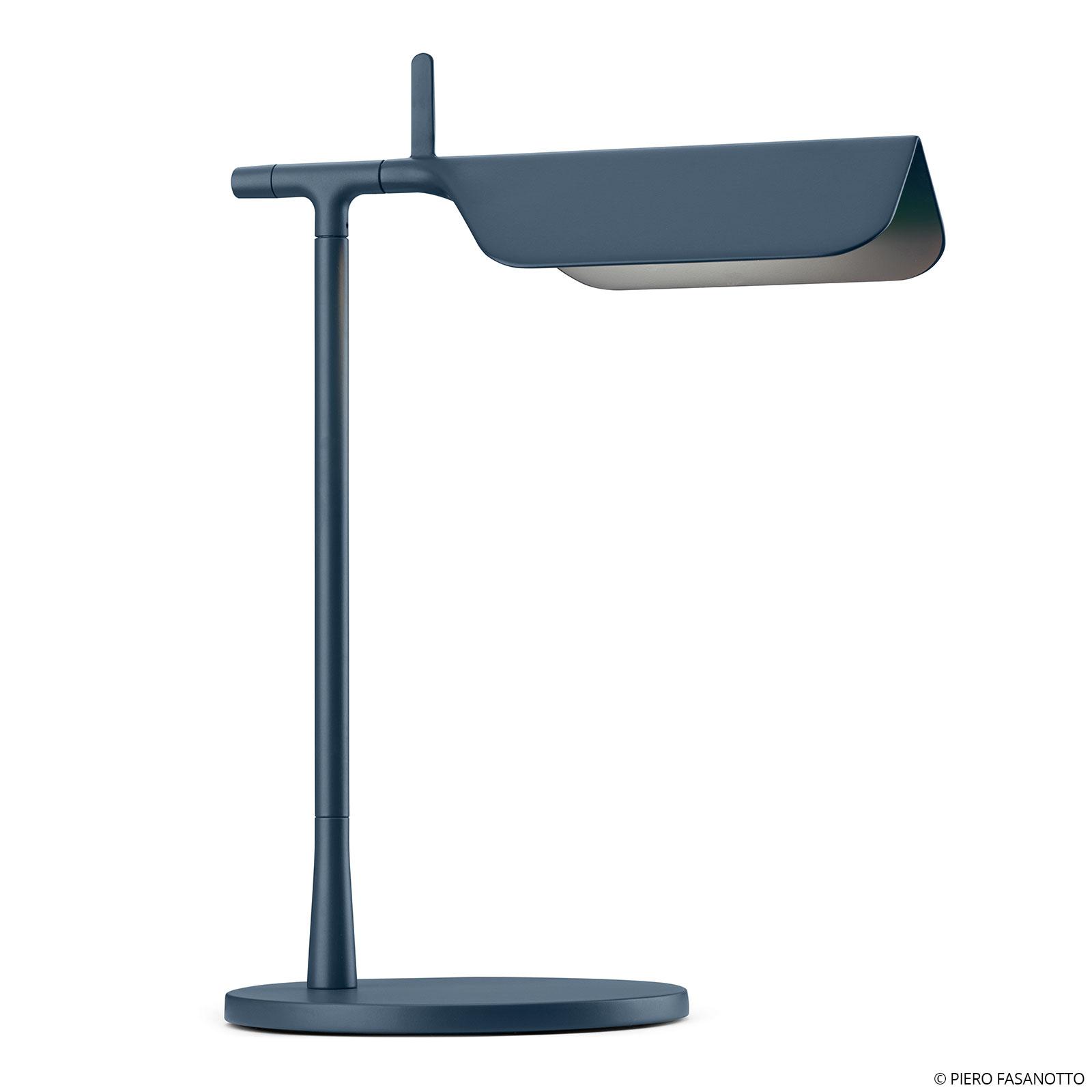 FLOS Tab T LED-Tischleuchte, blau matt