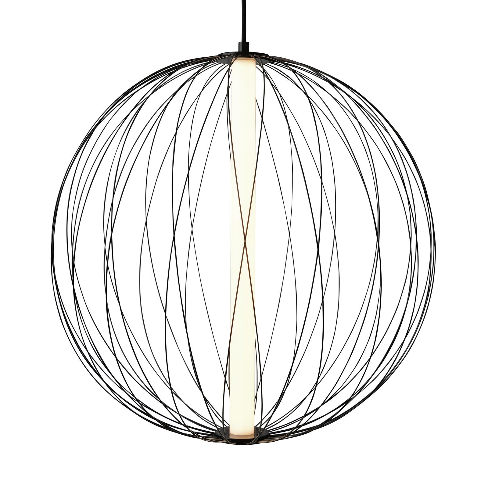Lampa wisząca LED Atomic o regulowanym kloszu