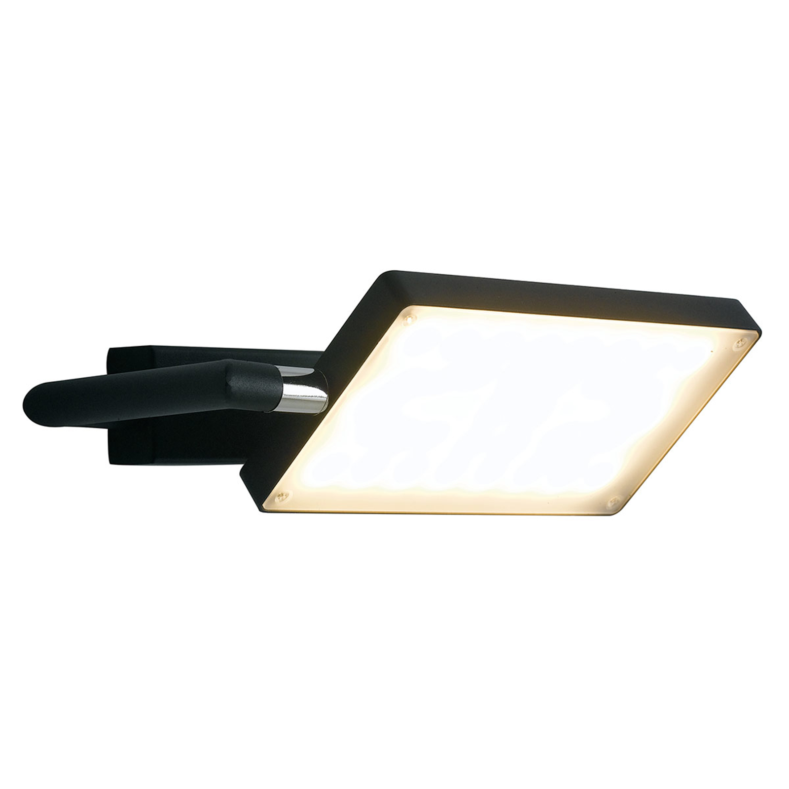 LED-Wandleuchte Book, schwarz