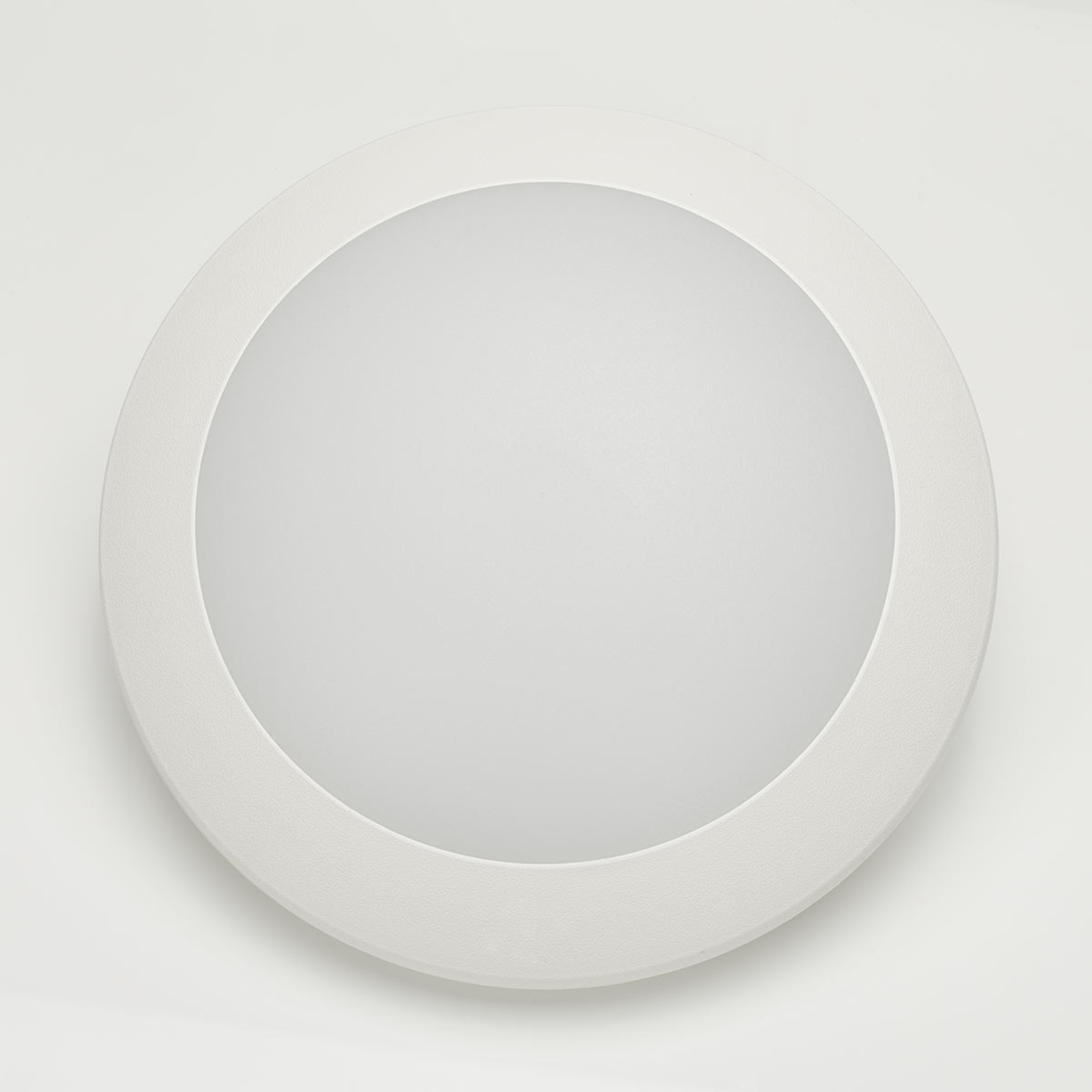 LED-Außenwandleuchte Berta Ø 27,5cm weiß 11W CCT
