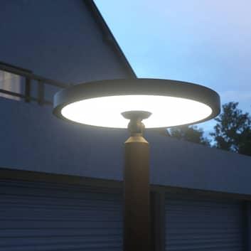 Akito, nowoczesna latarnia ogrodowa LED