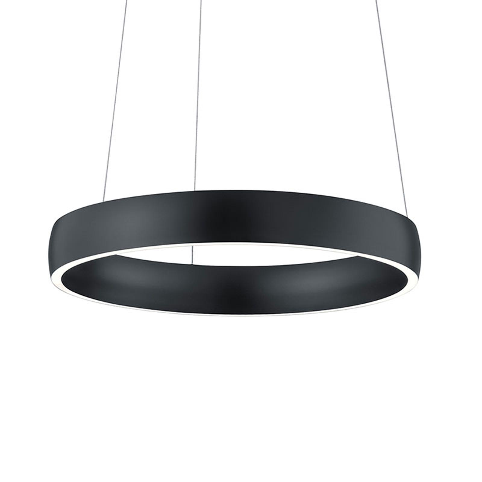 LED hanglamp Sara-40 zwart, 2.200-3.000 K