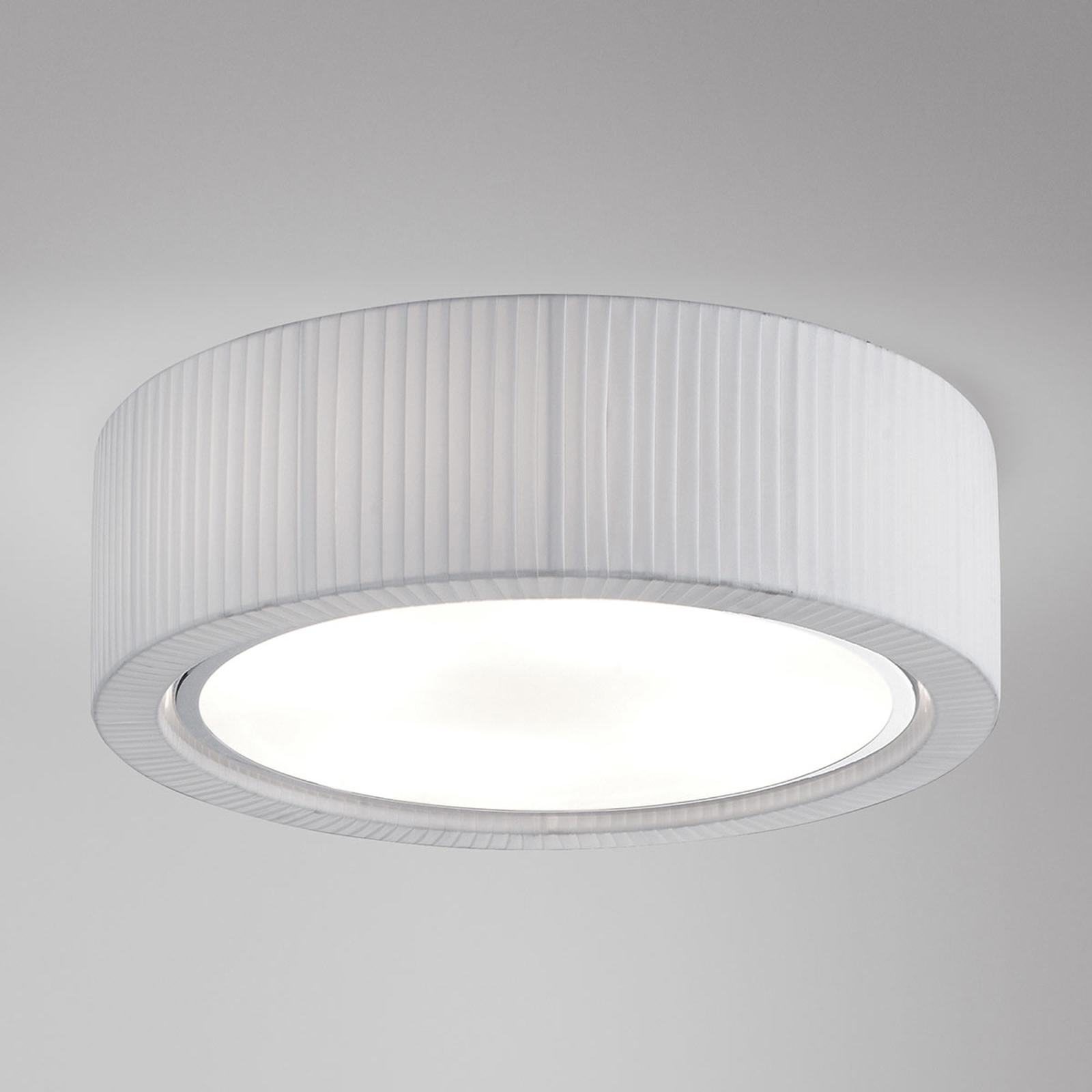 Bover Urban PF/37 plafondlamp, wit, 37 cm