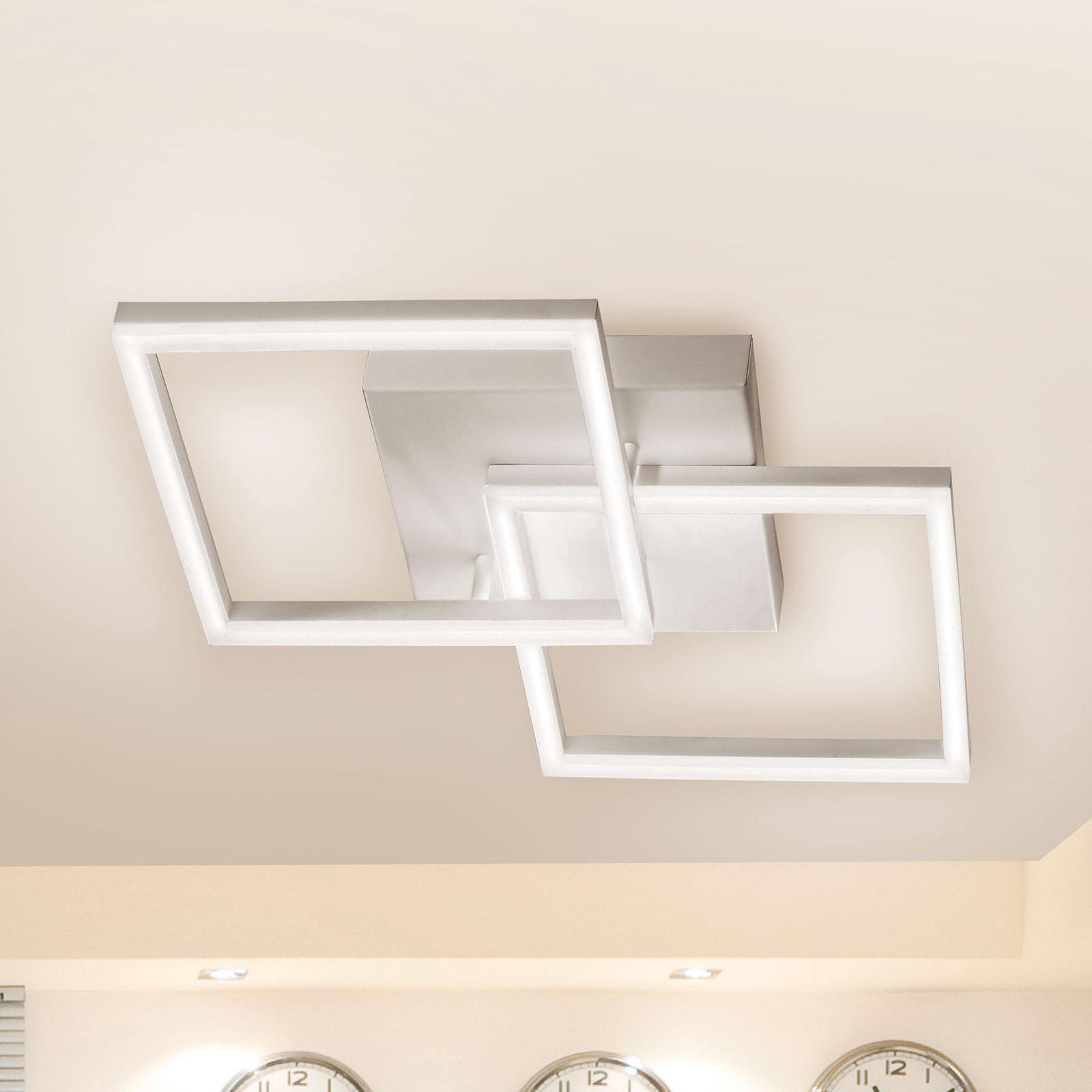 LED plafondlamp Bard met twee lampjes