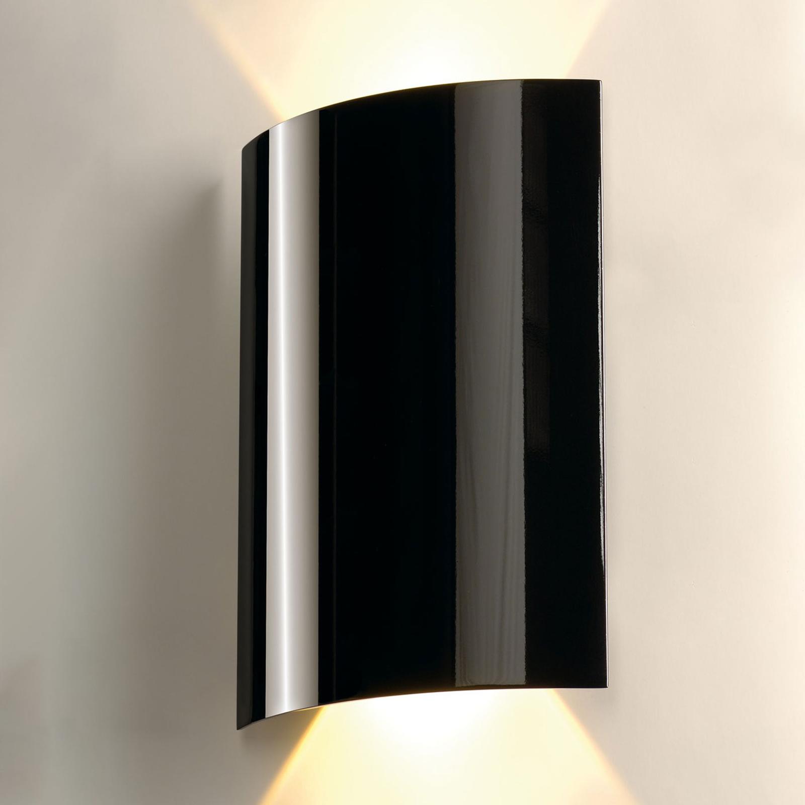 SLV Sail LED-Wandleuchte zweiflammig 30 cm schwarz