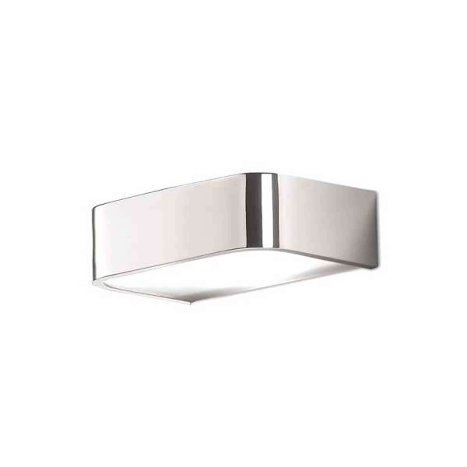Badezimmer-Wandleuchte Arcos mit LED, 15 cm chrom