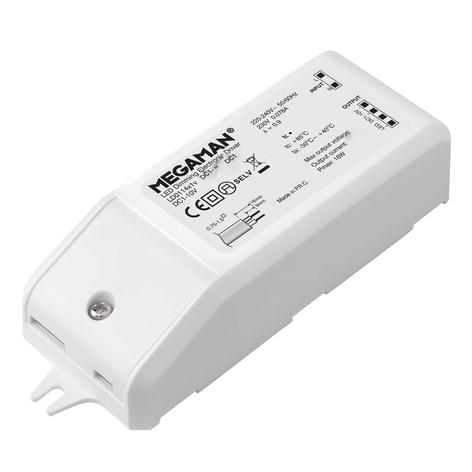 Controlador LED electrónico DC 1-10V, 14W