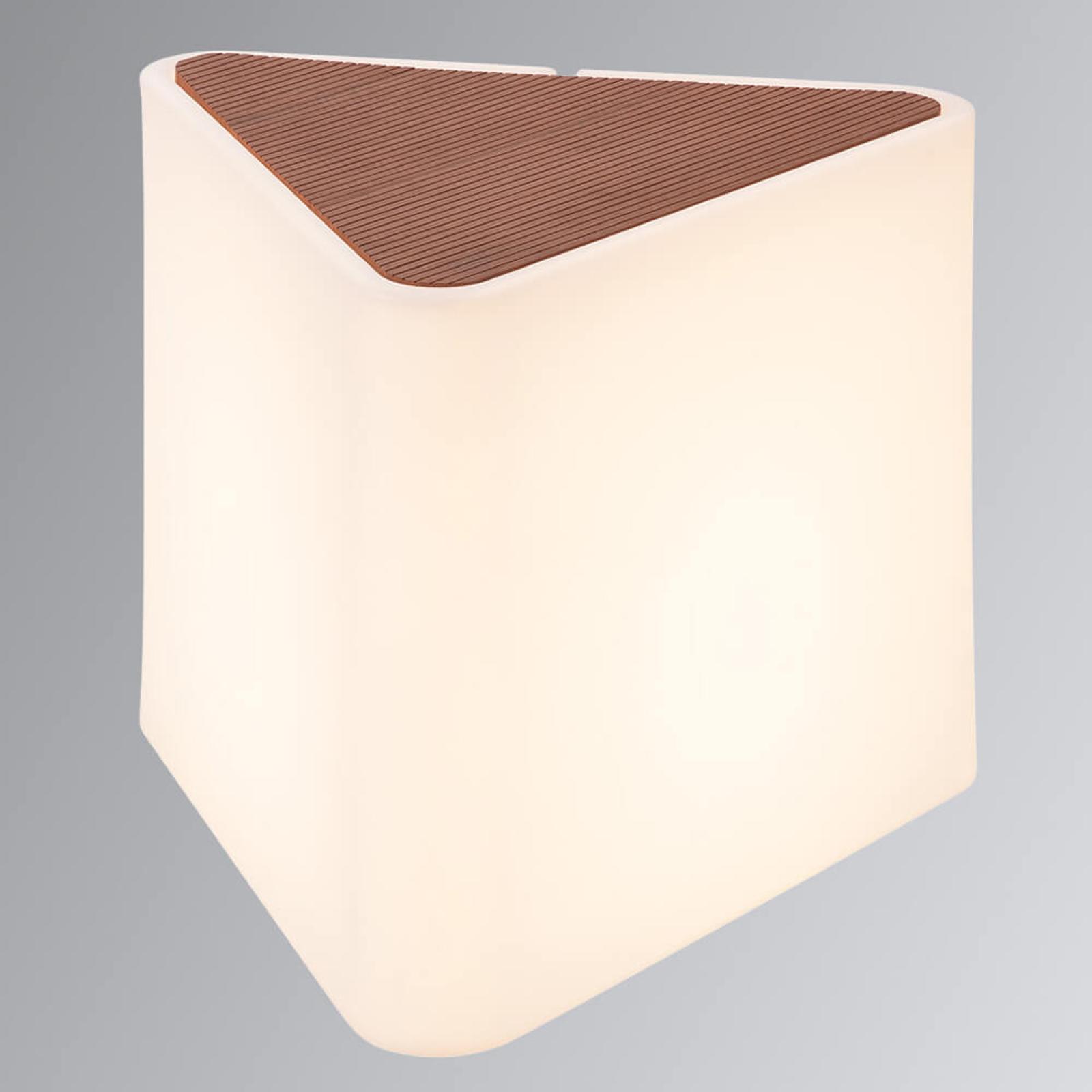 Lampada decorativa triangolare Kenga