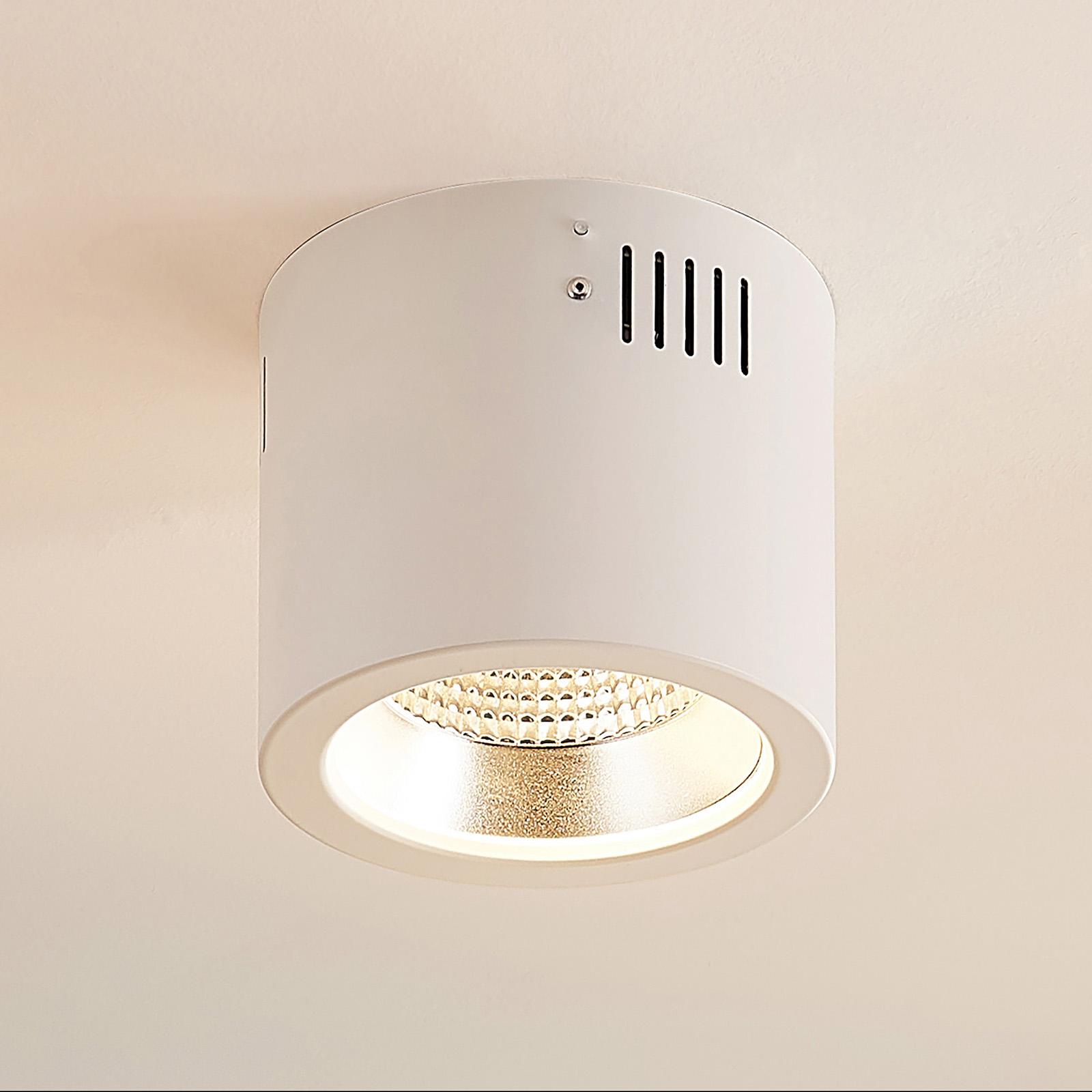 Arcchio Liddy LED downlight, wit, Ø 14,8 cm