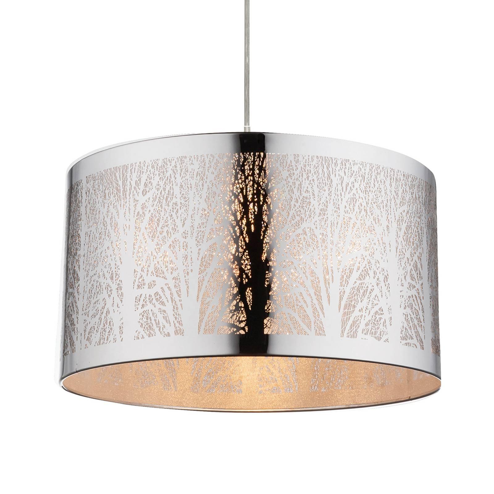 Wzór z drzewami - lampa wisząca Cianna