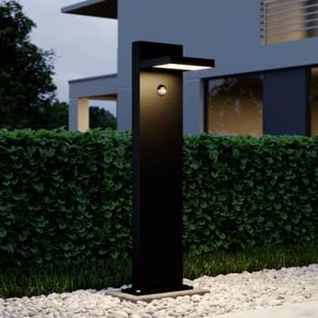 LED-pollare Silvan, 65 cm, med sensor