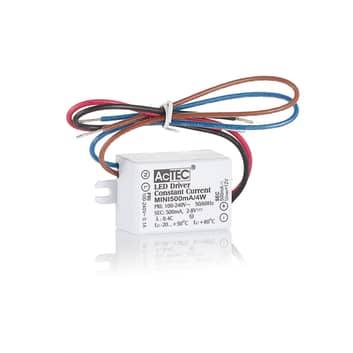 AcTEC Mini LED-Treiber CC 500mA, 4W, IP65
