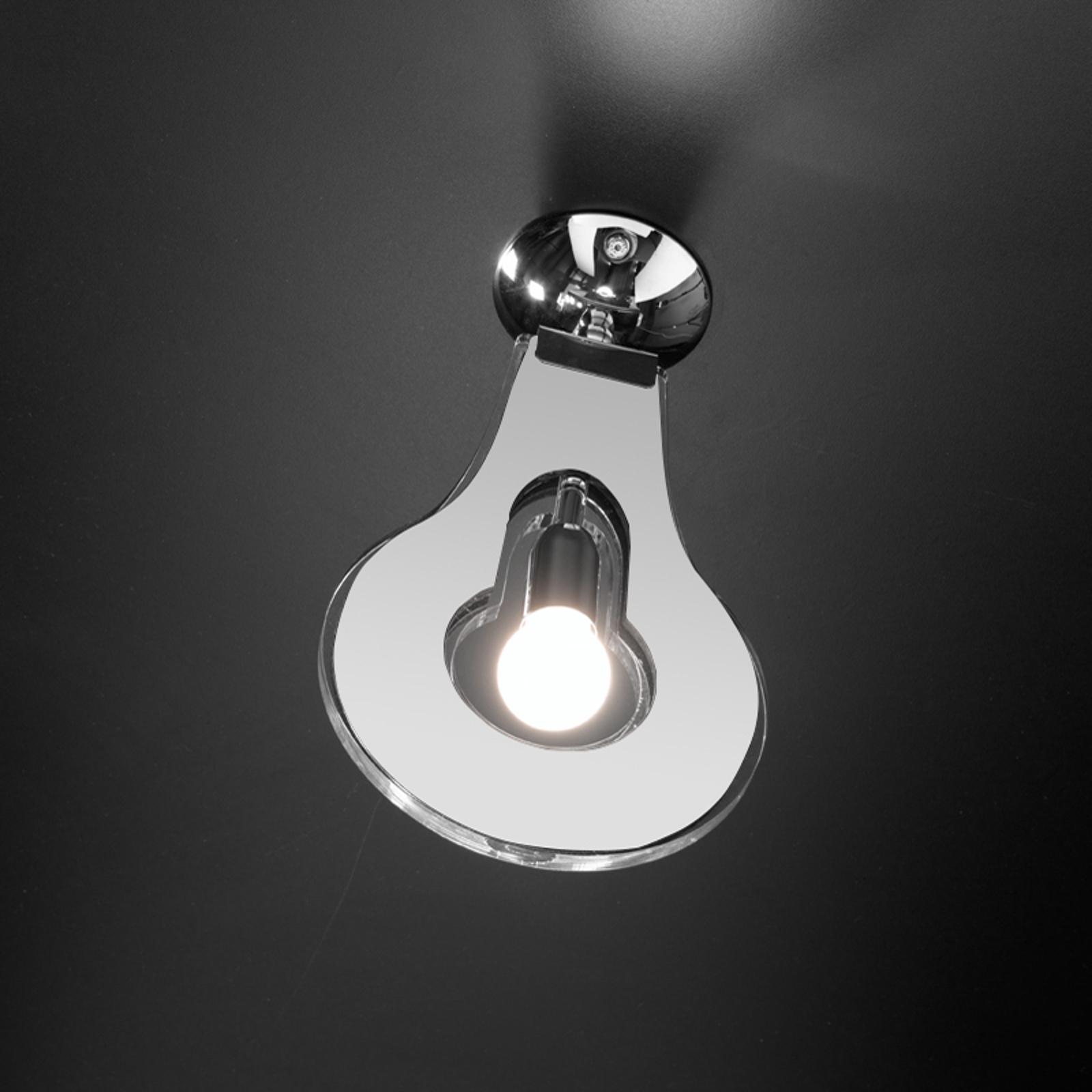 Modna lampa sufitowa Flat biała