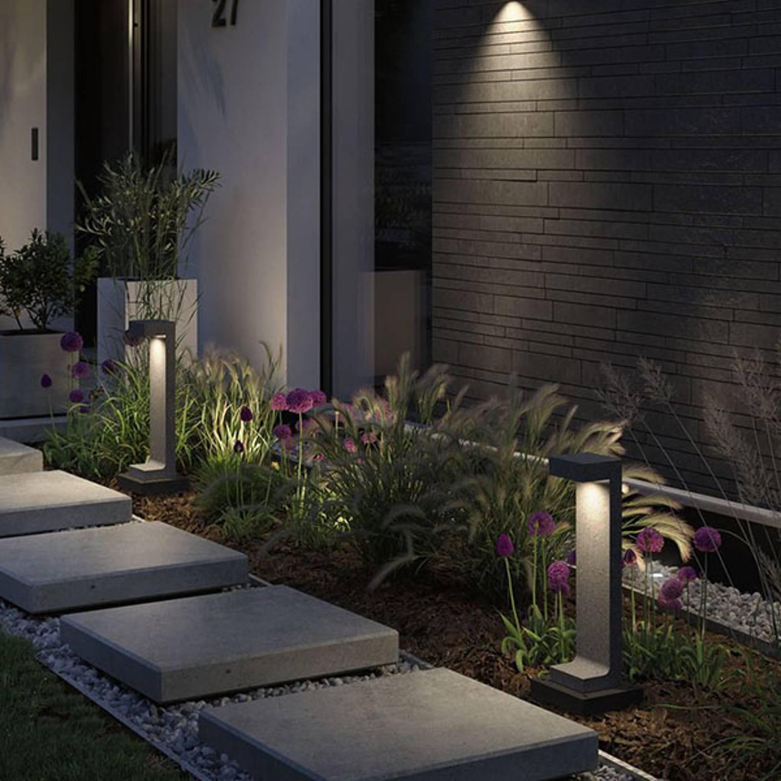Paulmann Concrea LED-Wegeleuchte, Höhe 61 cm