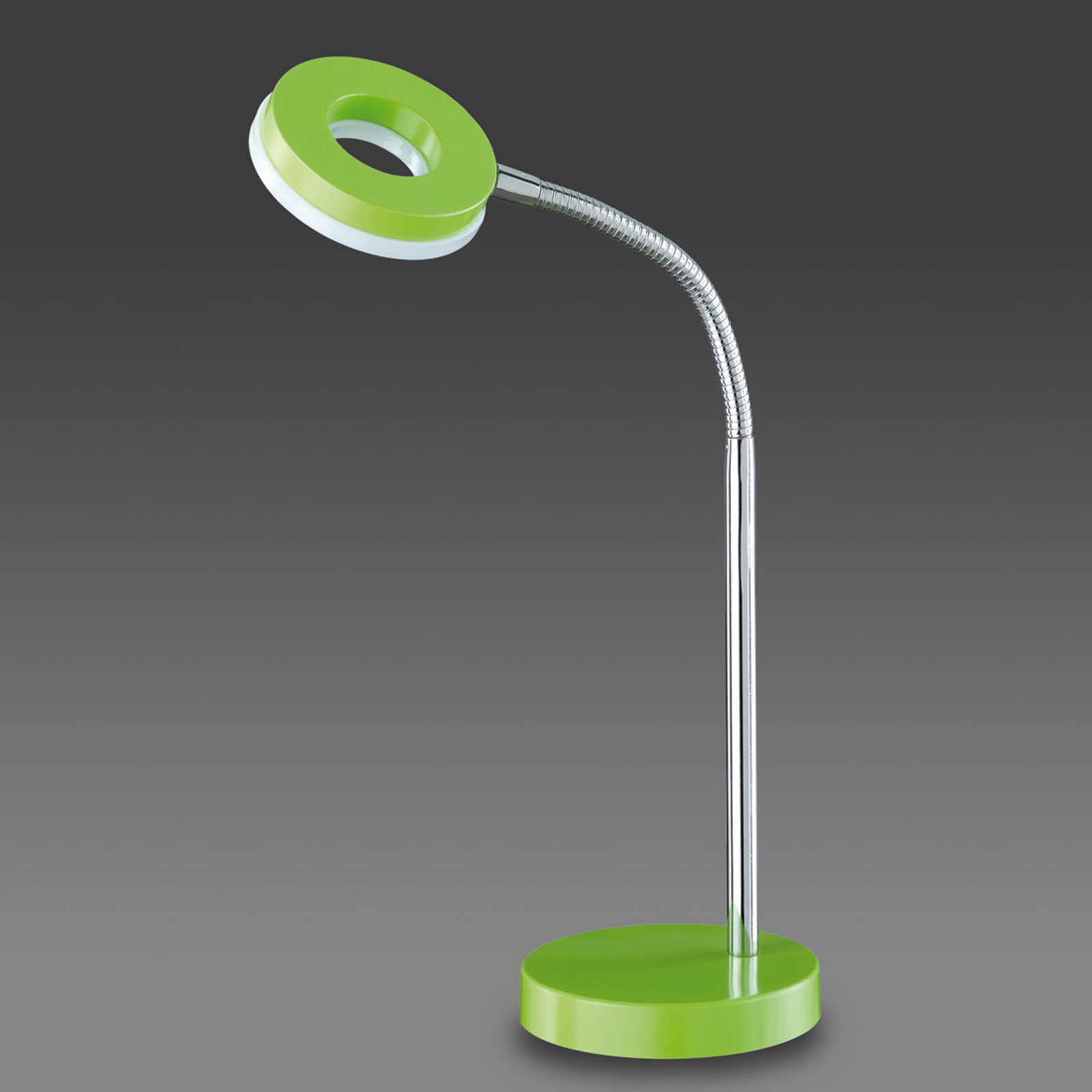 Grüne LED-Tischleuchte Rennes