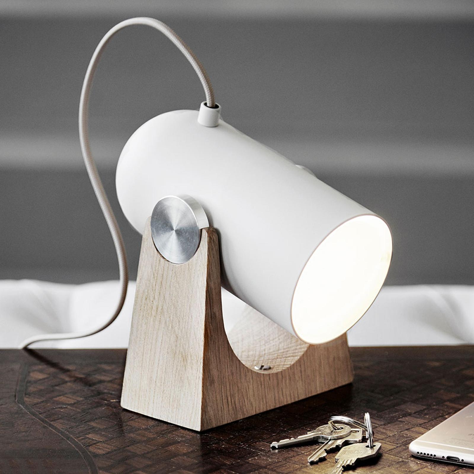 LE KLINT Carronade - zandkleurige tafellamp