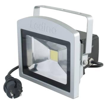 LED-Strahler Benrath, Anti-Panik-Leuchte mit Akku