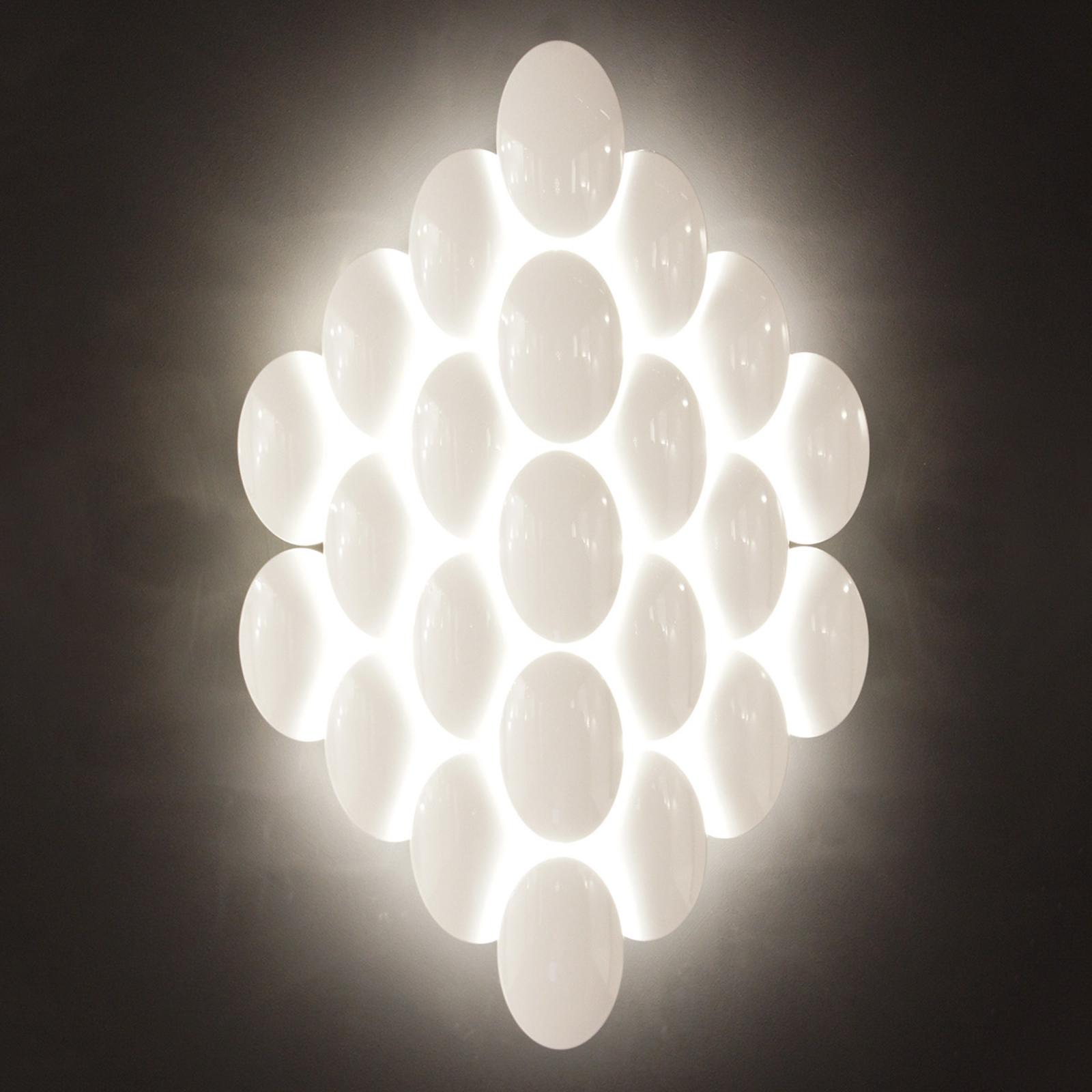 Applique a LED Obolo dimmerabile 16 luci