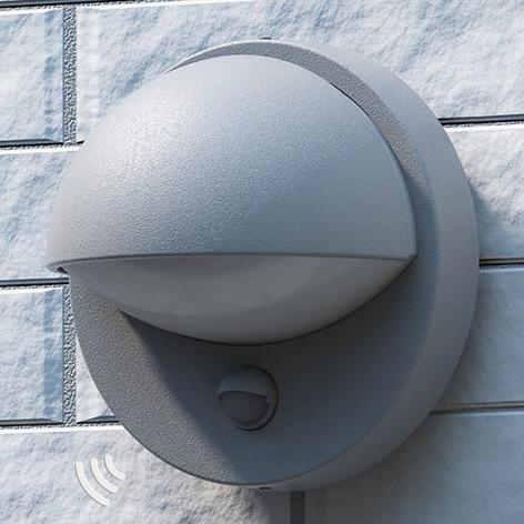 Philips Vida - Außenwandleuchte mit Sensor, grau