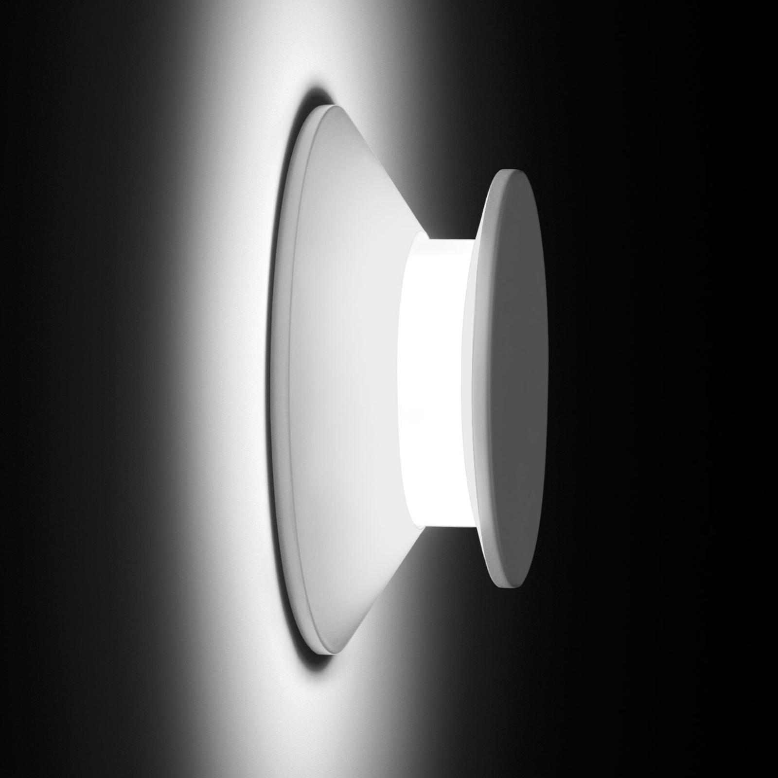 Vibia Micro 2015 LED-Außenwandleuchte, weiß