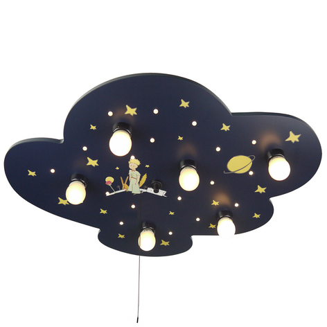 Deckenleuchte Kleiner Prinz Wolke mit Alexa-Modul