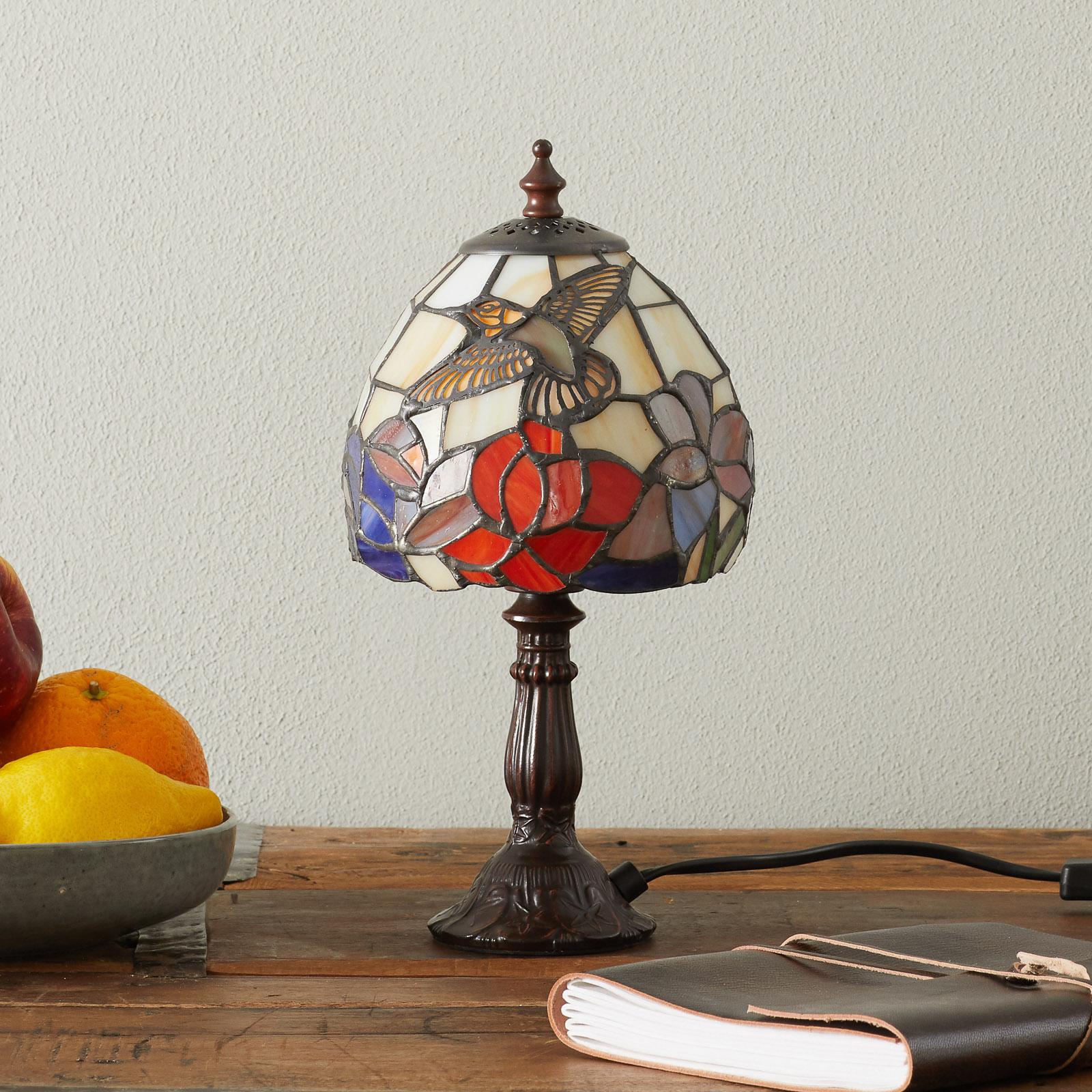 Lampe à poser IRENA style Tiffany