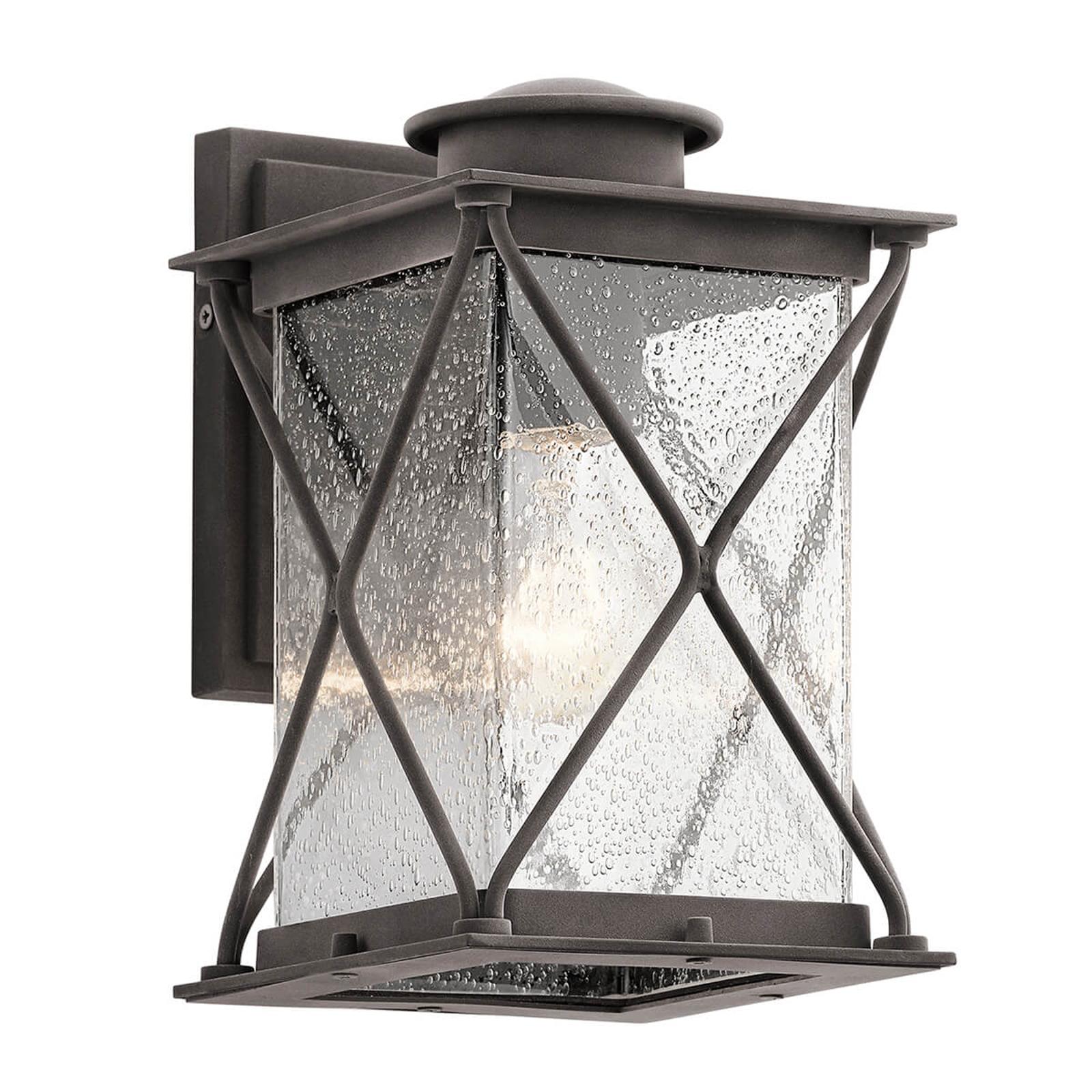 Argyle - kleine buitenwandlamp in landhuisstijl