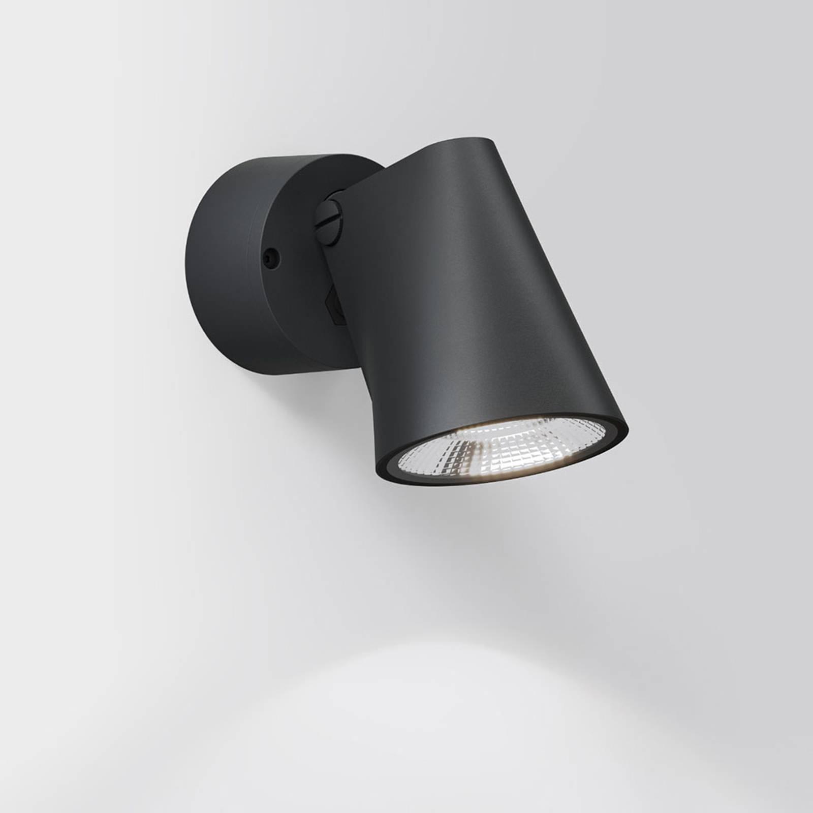 IP44.de Stic LED-Außenwandleuchte, deep black