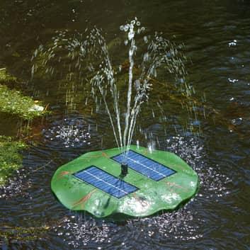 Vannlilje - flytende solcellepumpe for hagedam