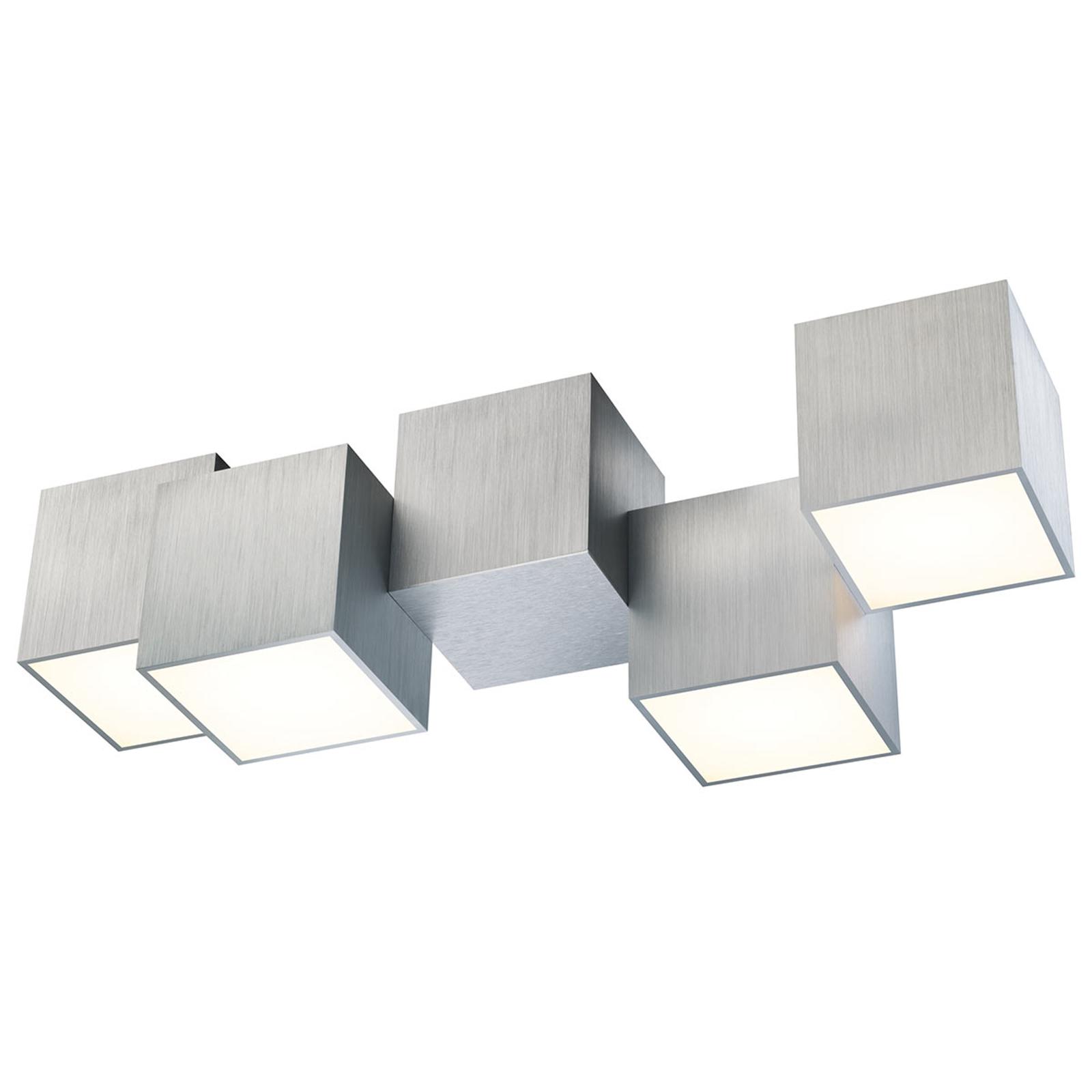 GROSSMANN Rocks lampa sufitowa LED, 4-punktowa