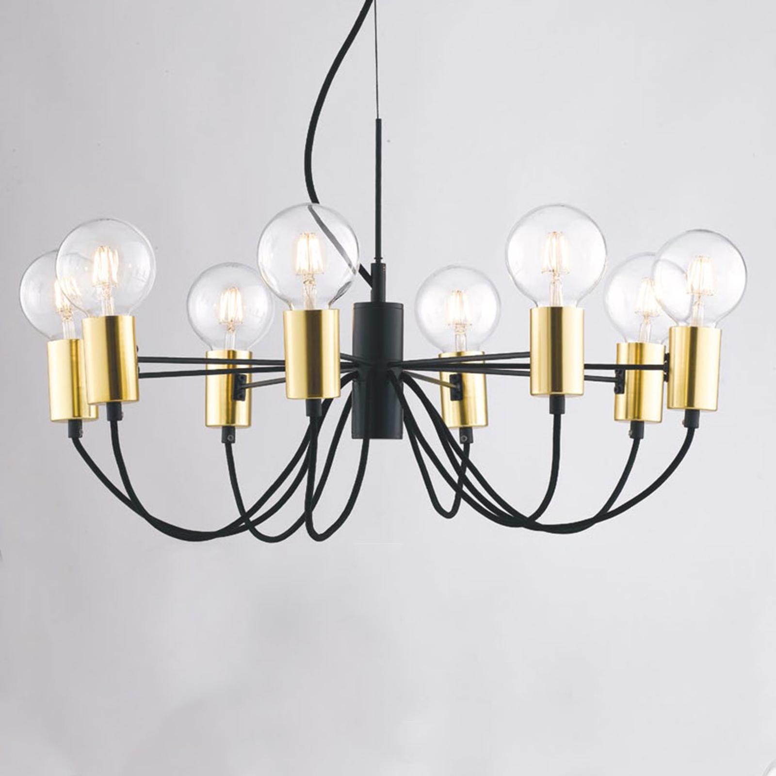Suspension Axon à 8 lampes