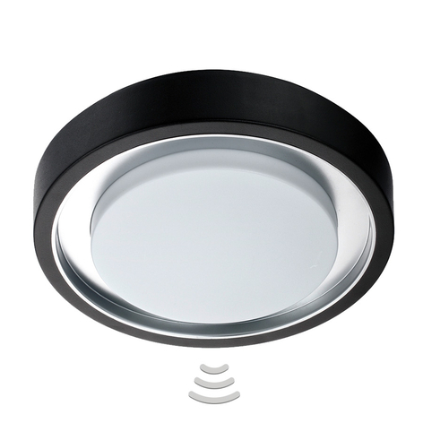 Venkovní stropní svítidlo LED Toki Sensor