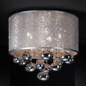 Lámpara LED de techo Andrómeda con colgante