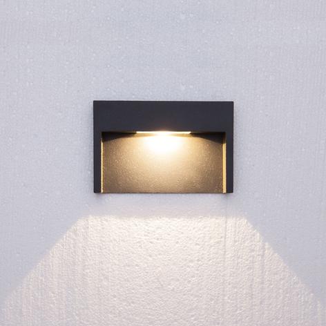 Applique d'extérieur LED encastrée Mitja 3 W IP65
