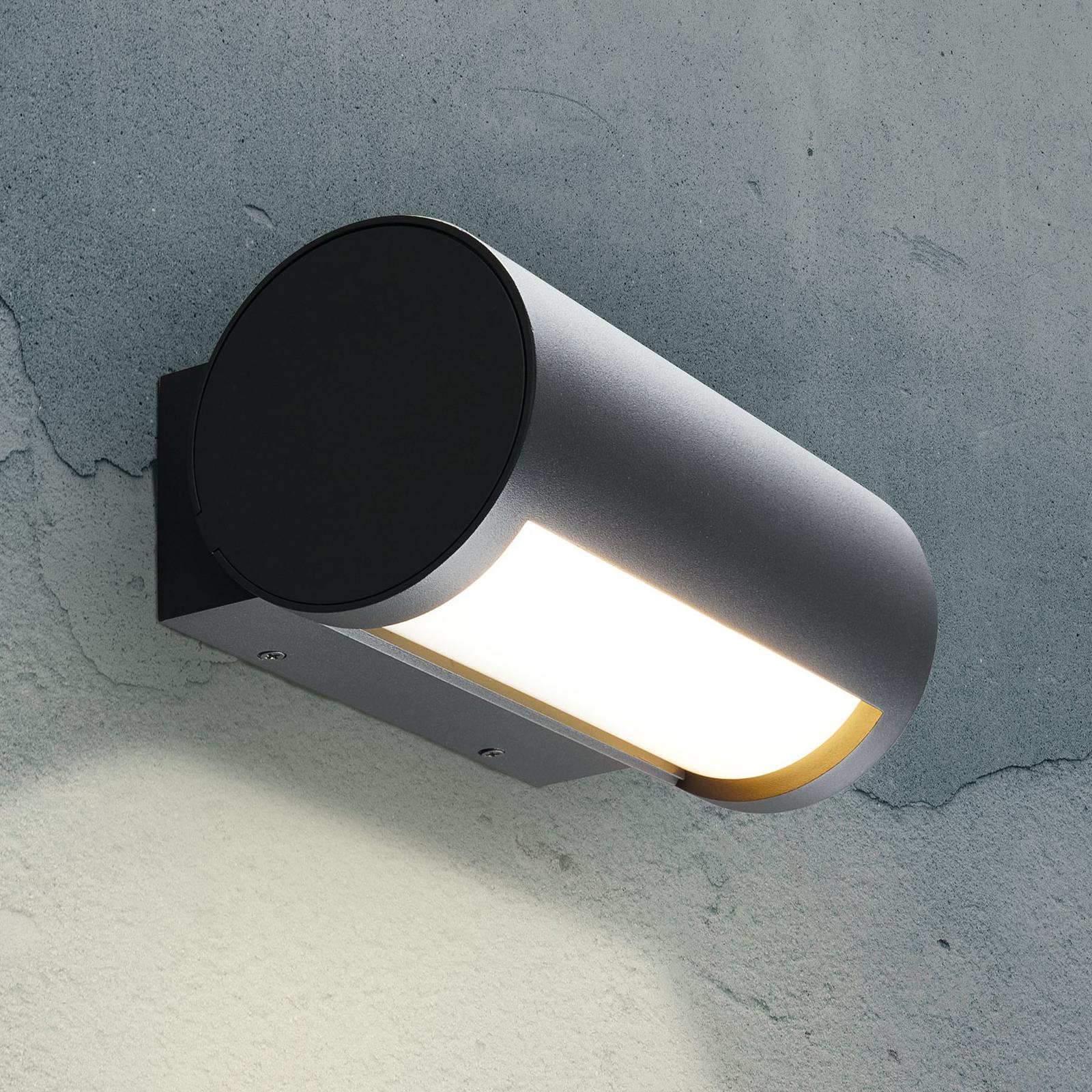 Applique d'extérieur LED Timor, lumière réglable