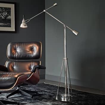 Tecnolumen Buquet gulvlampe, forsølvet