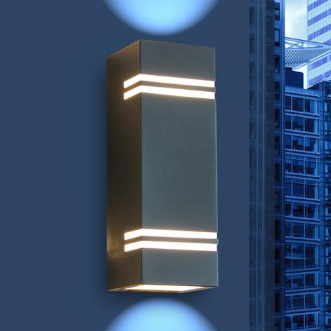 Moderne LED-Außenwandleuchte Stripes