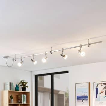Wysokonapięciowy system szynowy LED Narelia, GU10