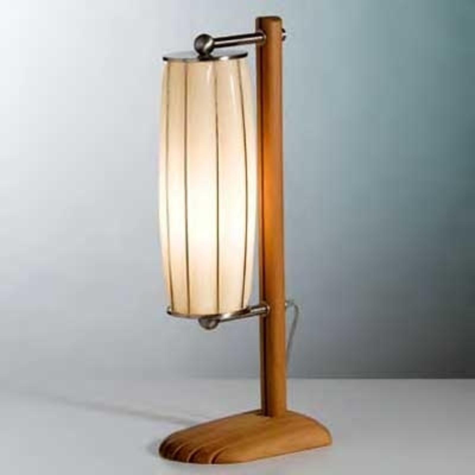 Håndlaget bordlampe TOTEM