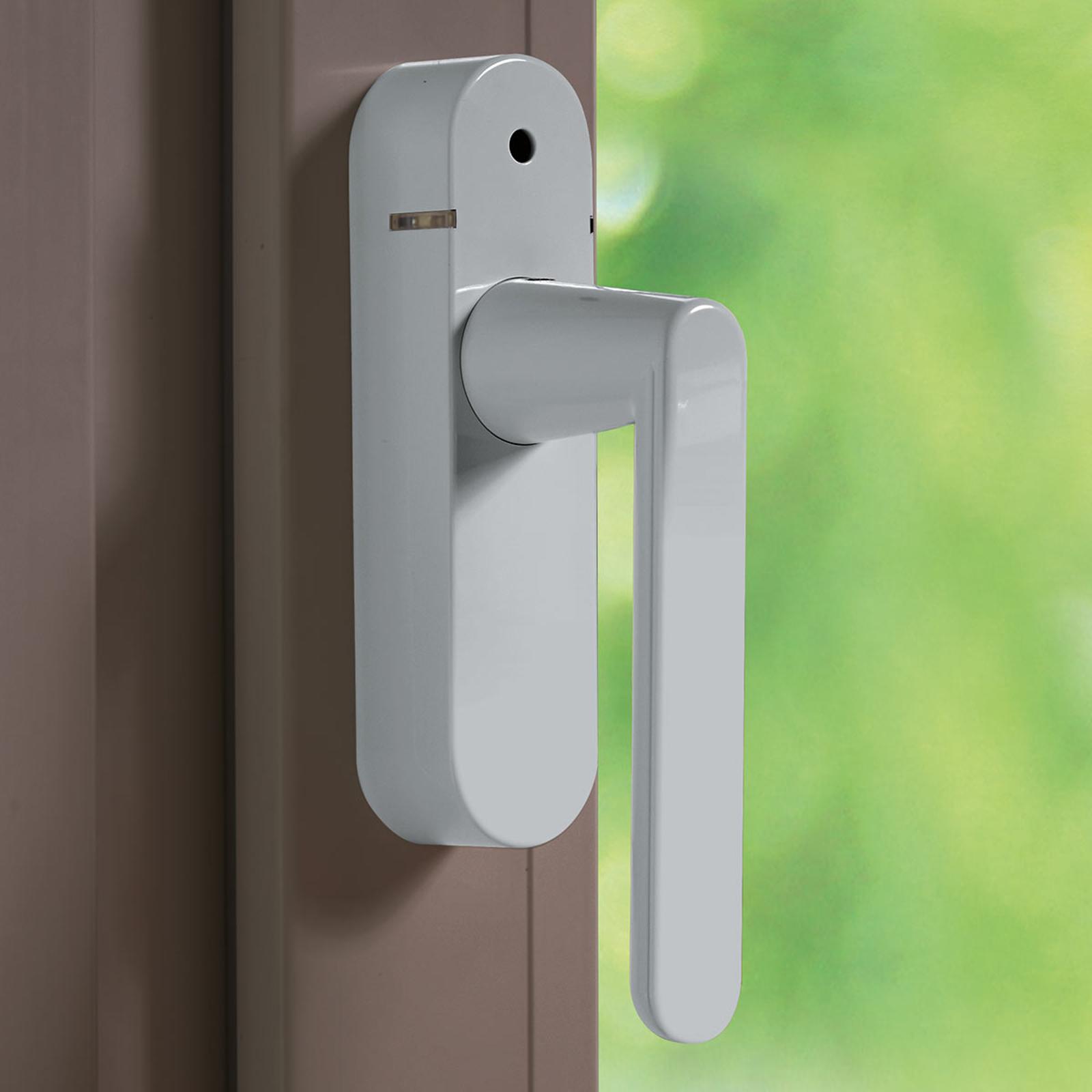Schellenberg 46513 Alarm-Fenstergriff silber