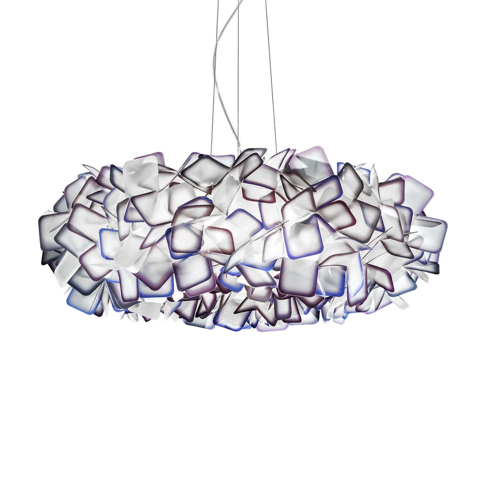 Slamp Clizia suspension, Ø 78cm, violette