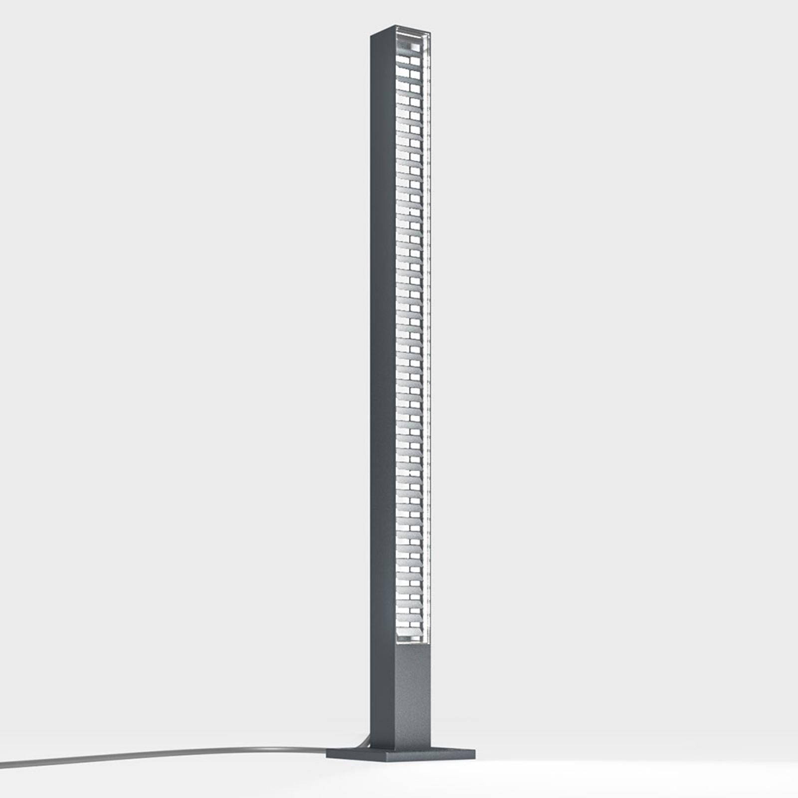 IP44.de lin słupek oświetleniowy LED antracytowy