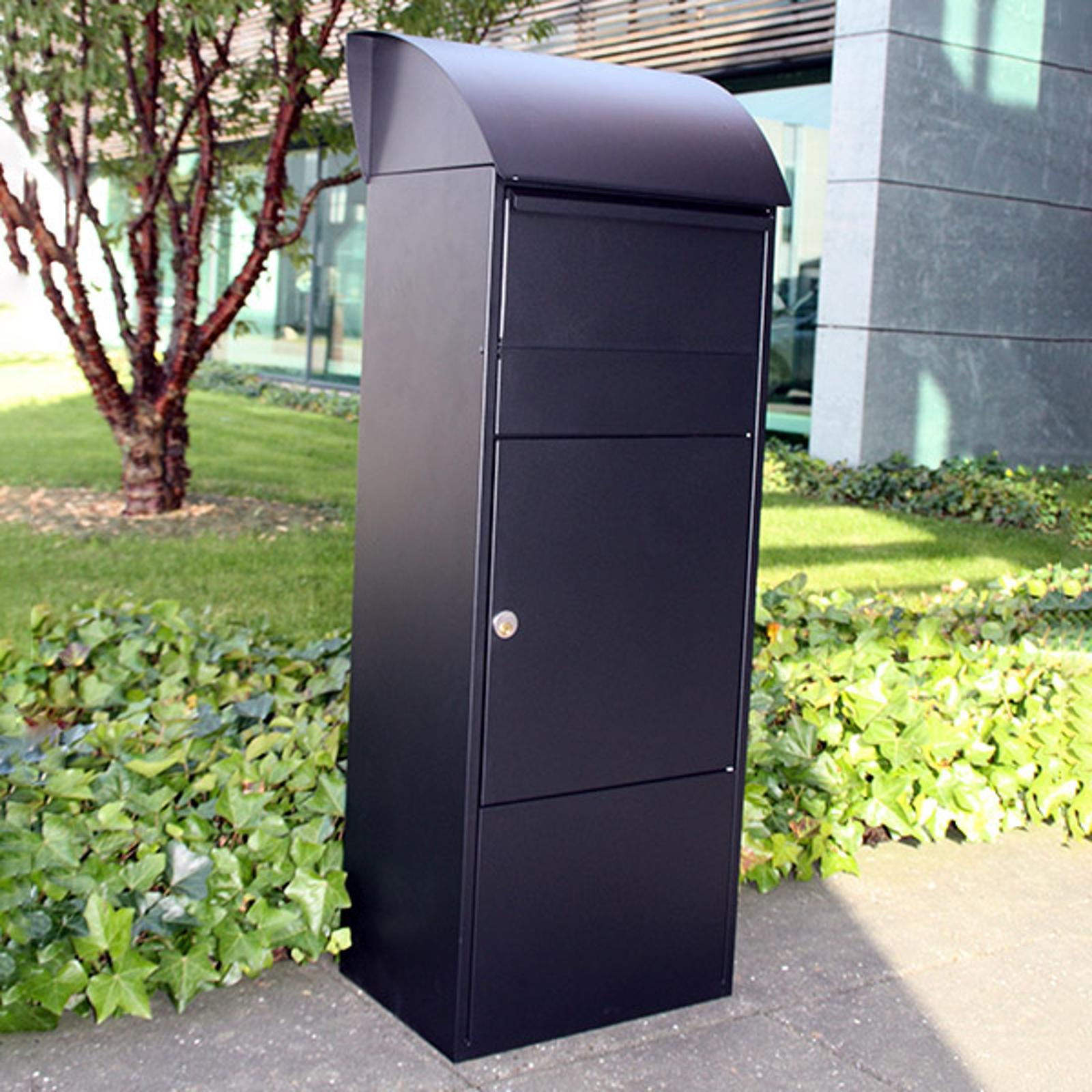 Standbriefkasten Allux 820S, schwarz