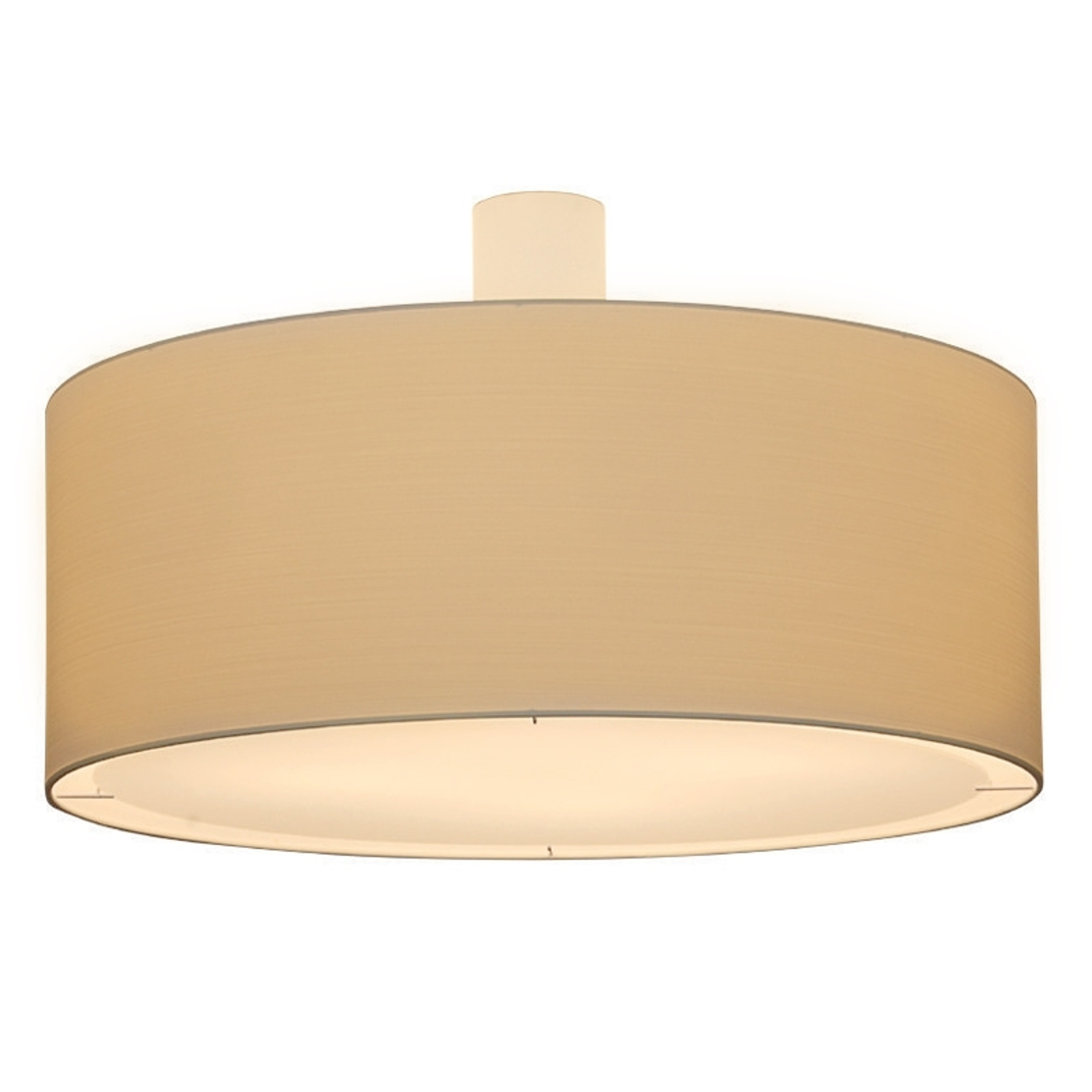 Kremowa lampa sufitowa LIVING ELEGANT śred. 100 cm