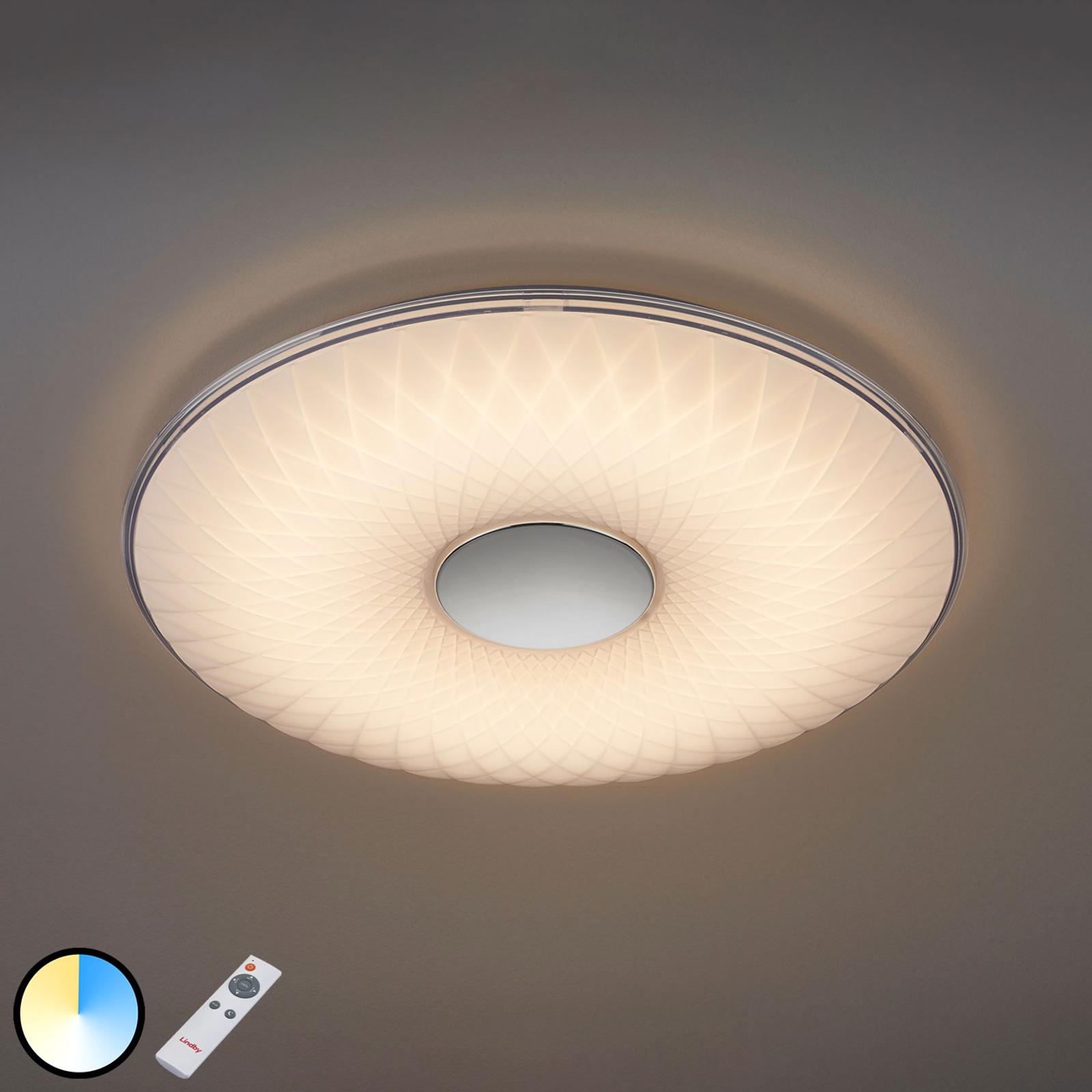 LED plafondlamp Tymon, 3.000-5.500 K, rond