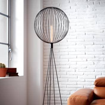 WEVER & DUCRÉ Wiro Globe 1.0 Stehlampe schwarz