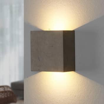 Yva - applique LED di cemento