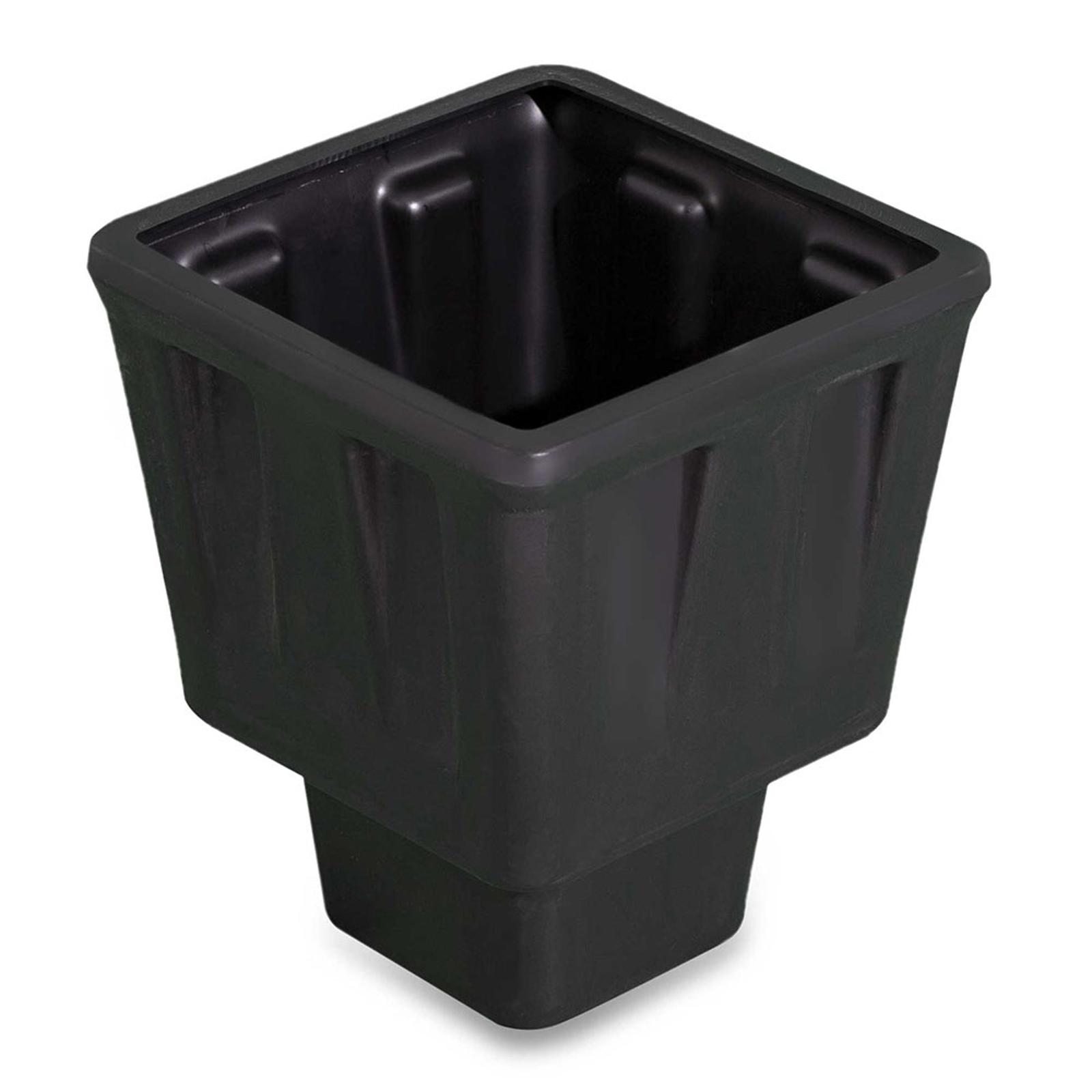 Pflanzeinsatz für Dekolampe Trevia V schwarz