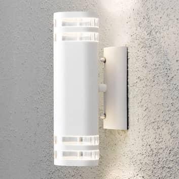 Modena udendørs væglampe, 2 lyskilder, hvid