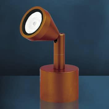 Malé LED stolní bodové světlo MINI, antické